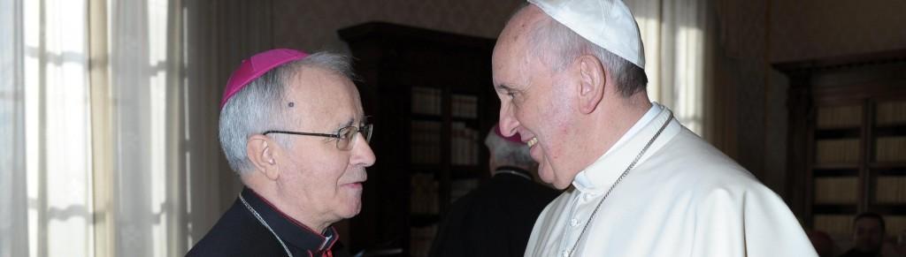 Bajo la guía de los sucesores de los apóstoles: el obispo Gregorio y el papa Francisco